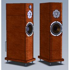 Двухполосная активная Full Bi-Amp акустическая система Amati Art Home AS 16