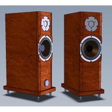 Двухполосная активная Full Bi-Amp акустическая система Amati Art Home AS 16FI