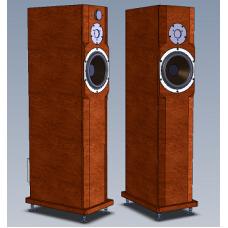 Двухполосная активная Full Bi-Amp акустическая система Amati Art Home AS 20