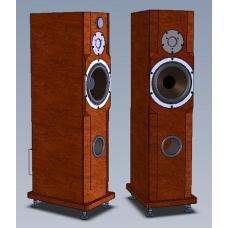 Двухполосная активная Full Bi-Amp акустическая система Amati Art Home AS 20FI